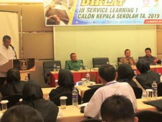 30 Kepsek di Kab Solok Ikuti Diklat In Service Learning