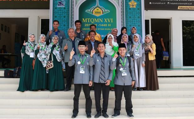 Kafilah UNP di MTQ Mahasiswa Banda Aceh.