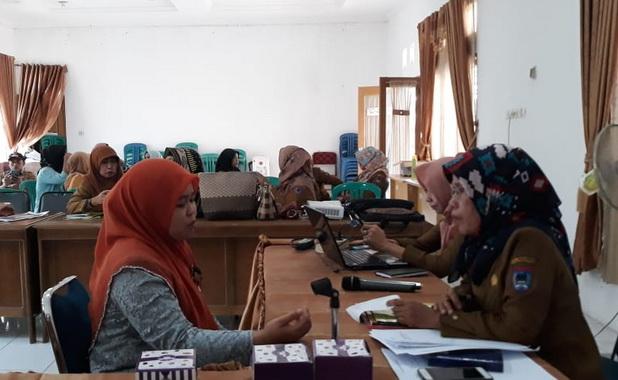 Kegiatan Penilaian Perempuan Inspiratif tingkat kota Payakumbuh tahun 2019.