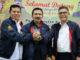 Ketua Umum Peenga PELTI Sumbar Syahrial Bakhtian bersama Kapolda dan Putut Siswoto.