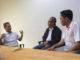 Zardi Syahrir pada Konsultasi dan presentasi peran, fungsi humas pemerintah dalam membangun kerjasama dengan tim Inteligent Manajemen Media.