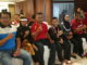 Linggoman,SPd.MM bersama atlet dan pelatih.