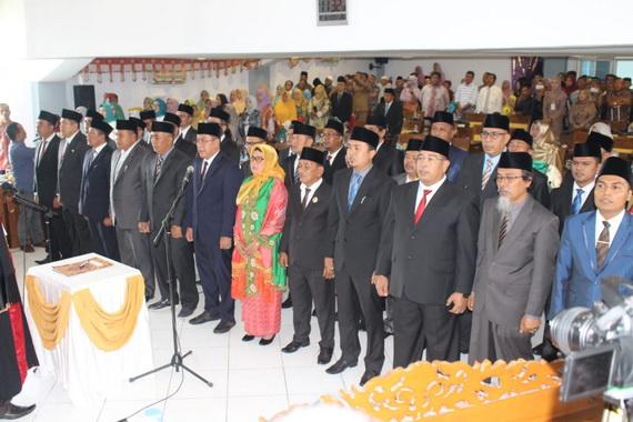 Pelantikan anggota DPRD Kab. Limapuluhkota periode 2019 0 2024.