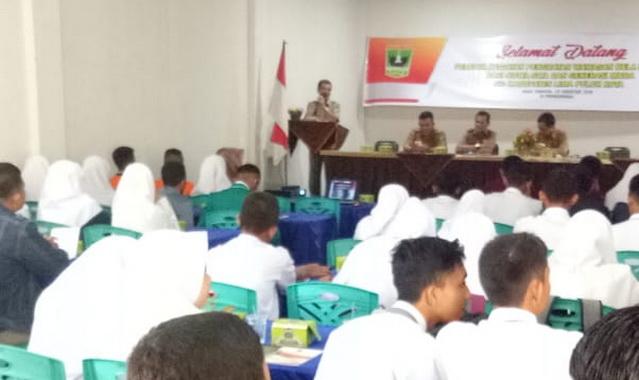 Penguatan wawasan bela negara di Gedung Sago Bungsu Tanjung Tanjang Pati.