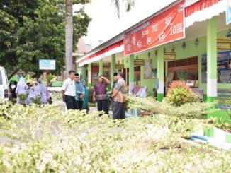 Peniniauan lapangan tim penilai tingkat Sumbar di Payakumbuh.