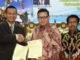 Prof Syahrial Bakhtiar dan Prof Ardipal bersama Walikota Pariaman Genius Umar.