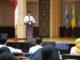 Prof. Ganefri saat memberi pengarahan.