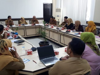 Rapat persiapan pelantikan anggota DPRD Kota Payakumbuh periode 2019 - 2024.