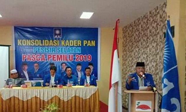 Salah satu kegiatan kader PAN Pessel pasca Pemilu 2019.