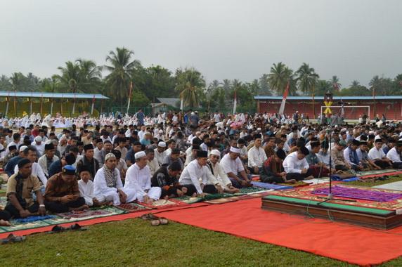 Sholat Idul Adha 1440 H di Muaro.