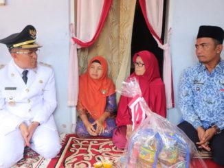 Erwin Yunaz Anjang Sana ke Rumah Dua Janda Perintis Kemerdekaan dan Veteran