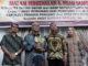 Bupati Tanah Datar Irdinansyah Tarmizi bersama AKBP Bayuaji Yudha Prajas dan Istri beserta AKBP Cepi Noval.