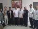 H. Atos Pratama saat menerima kunjungan POGI Sumbar di ruang kerjanya.