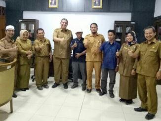 Kunjungan panitia HUT ke 54 SSRI-SMSR-SMKN 4 Padang,ke Dinas Pariwisata Sumbar.