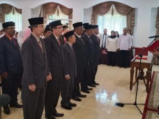 Mutasi di jajaran Pemko Padang Panjang.