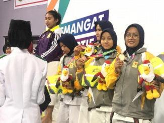 Para peraih medali Kempo.
