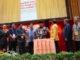Pembukaan SNTEK Ke-10 dan FORTEI Ke-13 yang berlangsung di Auditorium UNP,