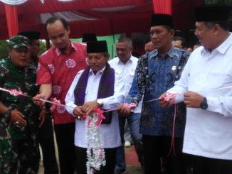 Peresmian gedung baru PMI Kota Solok.