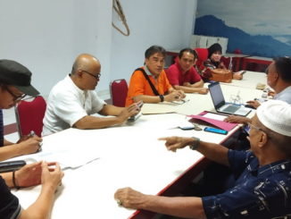 Rapat IK IK Kota Padang di Restoran Puncak Langkisau Jakarta Timur.