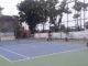 Salah satu pertandingan tenis Turnament Tenis Junior Open 2019 AMMAN Mineral.