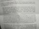 Surat penyataan ninik mamak ampek jinih Nagari Koto Gadang Guguak.