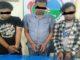 Tiga pelaku penyalahgunaan narkoba yang diringkus Polres Tanah Datar.
