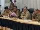 Wagub Nasrul Abit saat rapat yang dilaksanaka di Aula Kantor Gubernur.