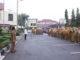 Apel pagi Senin di halaman Balaikota Solok,