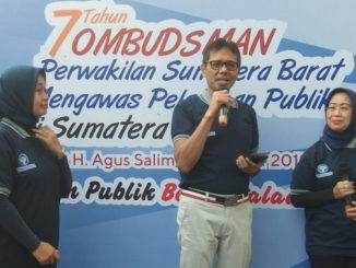 Gubernur Irwan Prayino saat memberi sambutan.