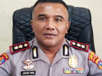 Kapolres Kota Sawahlunto, Junaidi Nur.