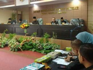 Rapat Paripurna DPRD Kota Sungai Penuh.