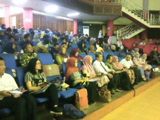 Seminar bahasa Jepang di UNP.