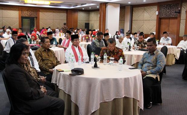 Silaturrahmi Pemkab Solok di Balairung Hotel Jakarta.