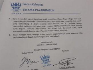 Surat DPP IKESMA.
