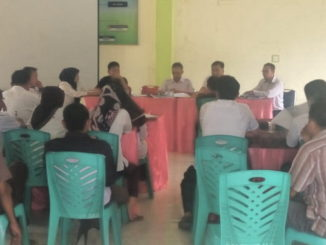 Tim Penilai Kompentensi dan Transparansi Kabupaten Sijunjung tengah melakukan penilaian.