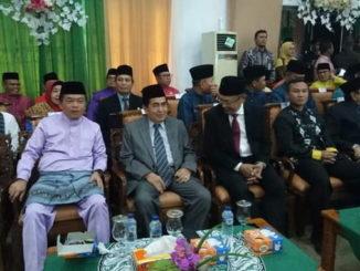Wako AJB saaat menghhadiri Rapat Paripurna HUT Ke-20 Kabupaten Tebo.