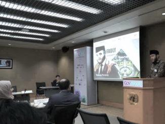 Wako Fadly Amran saat jadi pembicara di Bangkok.