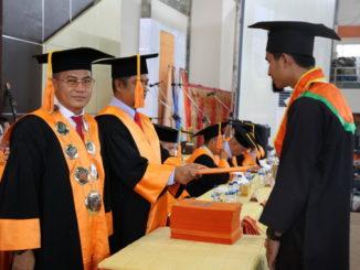 Wisuda Ke-56 di Kampus Limau Manis, Padang.