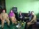 Zardi Syahril bersama tim humas di Lubuk Basung.