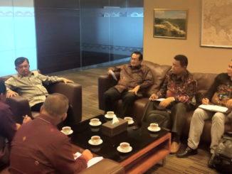 Audiensi Tim UNP dengan M. Jusuf Kalla.