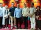 Dari kiri Ketua Panitia HPN 2020 Auri Jaya , Ketua Umum PWI Pusat Atal S. Depari, Ketua Apeksi Hj. Airin Rachmi Diany, Pelaksana Anugerah Kebudayaan Yusuf Susilo Hartono,