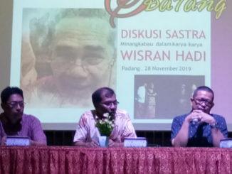 Diskusi Sastra Minangkbau dalam karya Wisran Hadi