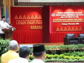 Kenangan Dies Natalis UNP Ke-65 Saat LPTK CUP 2019 Juga Menggelar Seminar Nasional
