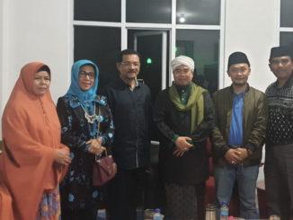 Maigus bersama Gamawan Fauzi dan Buya Gusrizal.
