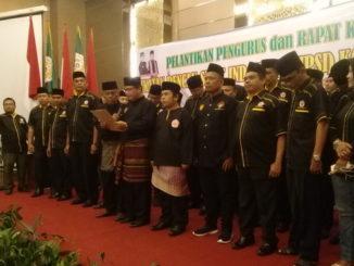 Pelantikan pengurus IPSI Kota Padang.