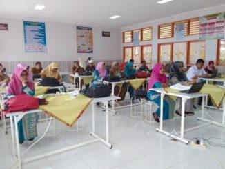 Pelatihan kurikulum di Kab. Tanah Datar.