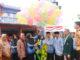 Pelepasan balon peringatan HKN ke 55 di Kota Payakumbuh oleh Asisten I Sekwilda Yoherman SH.