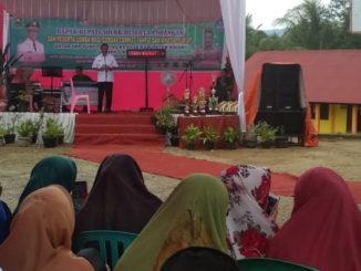 Pembukaan lomba antar SUBP di Kabupaten Solok