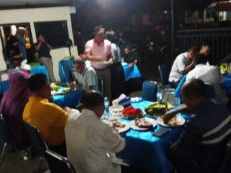 Suasana hari ulang tahun AKBP Andry Kurniawan.