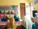 Tim lomba sekolah sehat Kabupaten Sijunjung saat menilai di Kecamatan Koto VII.